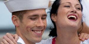 Dating Disaster: Two Girls, One Seaman
