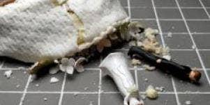 Fallen wedding cake
