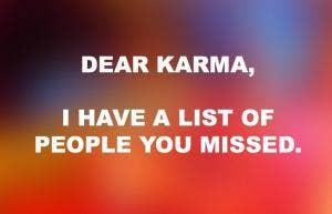 funny karma quotes